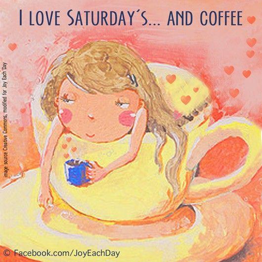 Moms <3 #Saturday mornings & #coffee.
