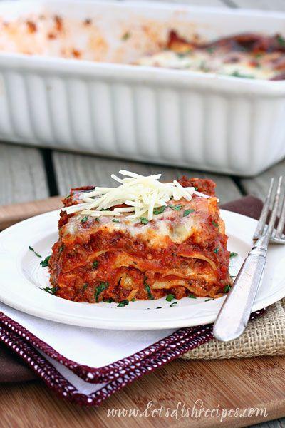 The Ultimate Lasagna | Recipe
