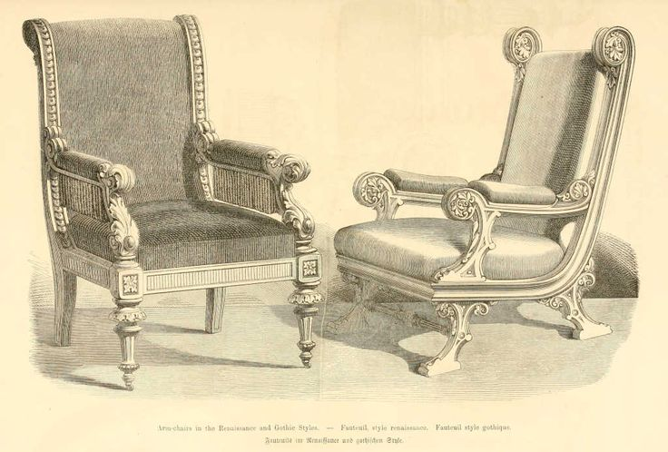 img dessins meubles mobilier fauteuil style renaissance fauteuil style gothique. Black Bedroom Furniture Sets. Home Design Ideas