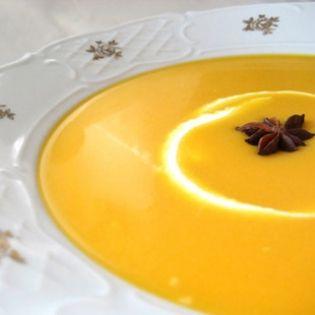 Cream of Carrot Soup (Crema de Zanahorias)