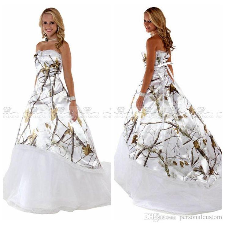 White Real Tree Camo Wedding Dresses 2017 New Camouflage Bridal Gowns Custom Online Lace Up Back Vestidos De Novia Cheap Plus Size Pakistani Bridal Dresses Pakistani Wedding Dresses From Personalcustom, $145.73| Dhgate.Com