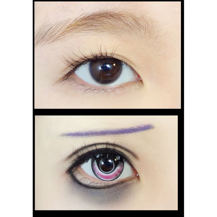 Cosplay anime coloured contacts - great for anime cons ...