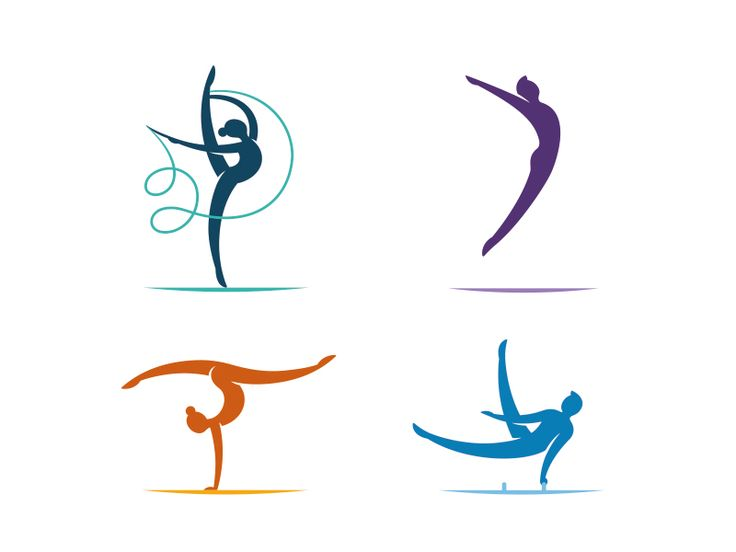 Part of icons for Azerbaijan Gymnastics Federation. by order Paradox. Rhythmic gymnastics. Trampoline gymnastics. Women's Artistic gymnastics. Men's Artistic gymnastics.