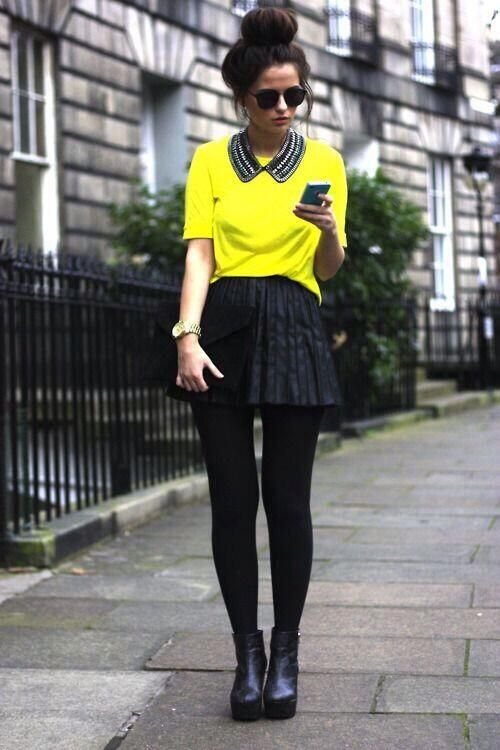 Mallones + Blusa amarilla pic.twitter.com/toHaWHhnAx