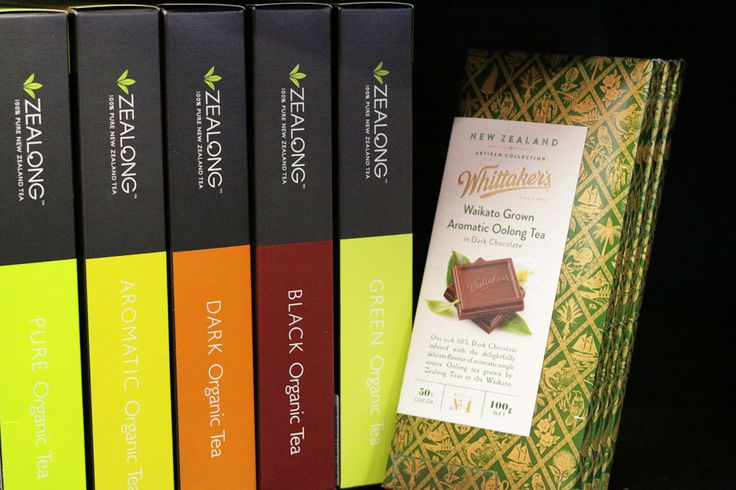 The Perfect Pair: New Zealand's own 'Zealong' Tea Range and Whittaker's 'Waikato Grown Oolong Tea in Dark Chocolate'
