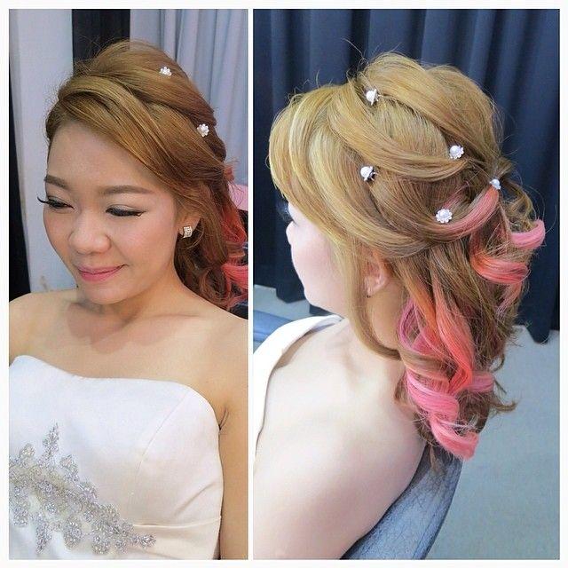 Groovy Elegant Hairstyles Pink Hair And Hairstyles On Pinterest Short Hairstyles For Black Women Fulllsitofus