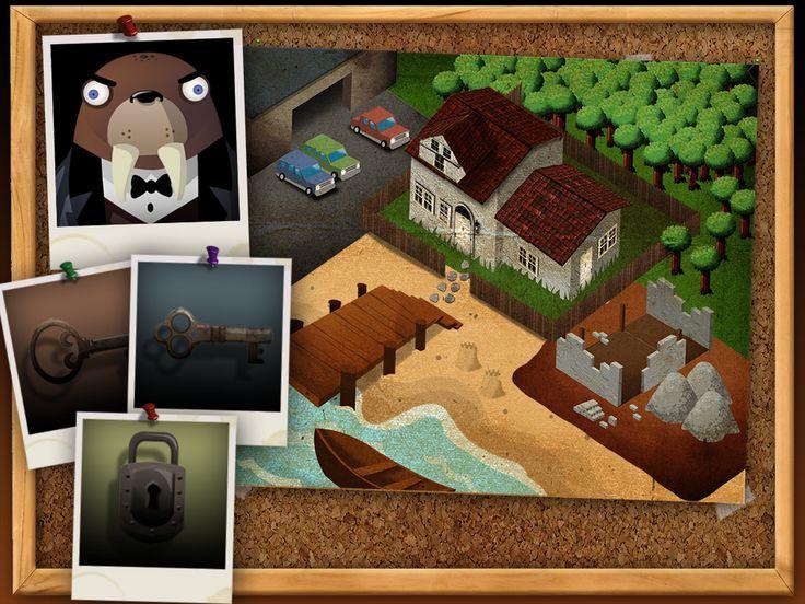 Wombi Detective - fånga tjuven och hitta stöldgodset | Pappas Appar