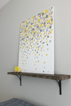DIY Bubbles Wall Art – Update A Boring Artwork | At the Corner of Happy and Harried
