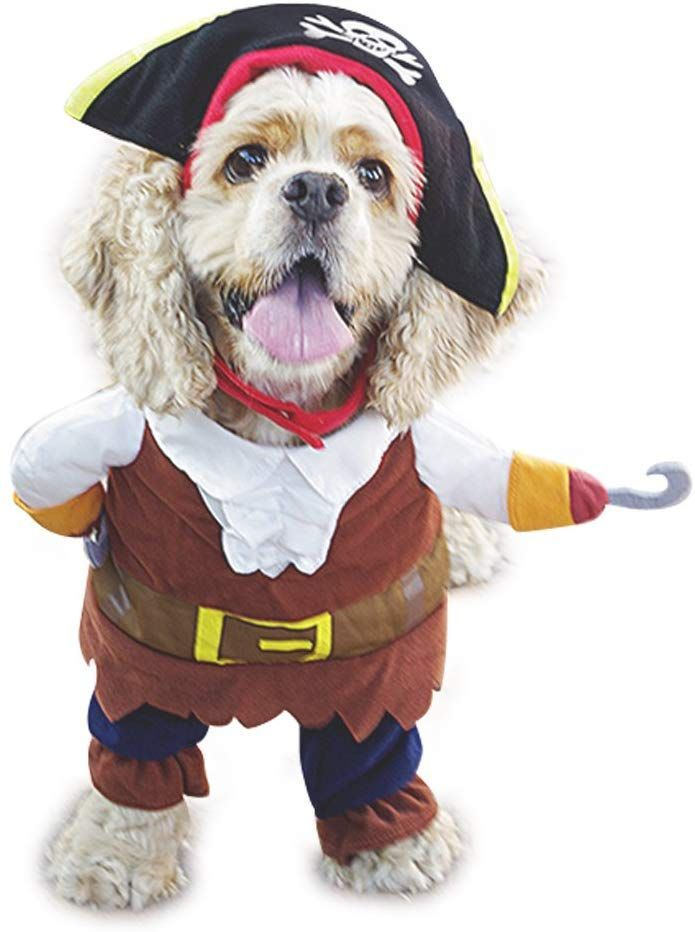 Mikayoo Pet Costume Fashion Pirates Of The Caribbean Style Clothes
