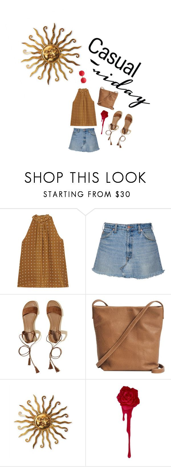 """""""roZeeeee"""" by alicetysnt on Polyvore featuring Diane Von Furstenberg, Hollister Co. and BAGGU"""