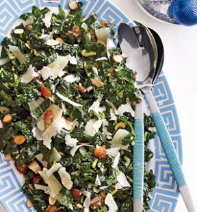 ... Dates, Parmesan and Almonds | Recipe | Kale Salads, Kale and Parmesan