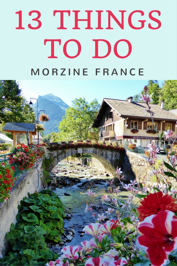 If you are looking for things to do in Morzine France in the summer, we have a long list for you to choose from. This is a great summer destination!