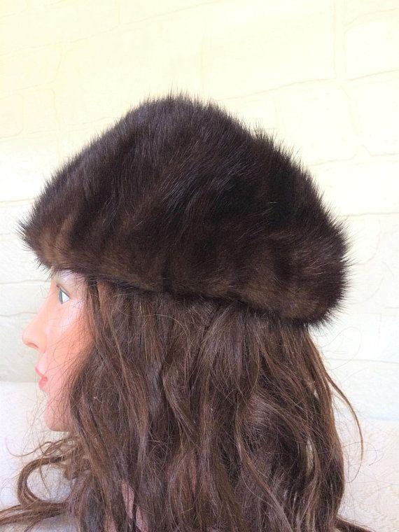 Gorgeous Beaver fur ladies hat
