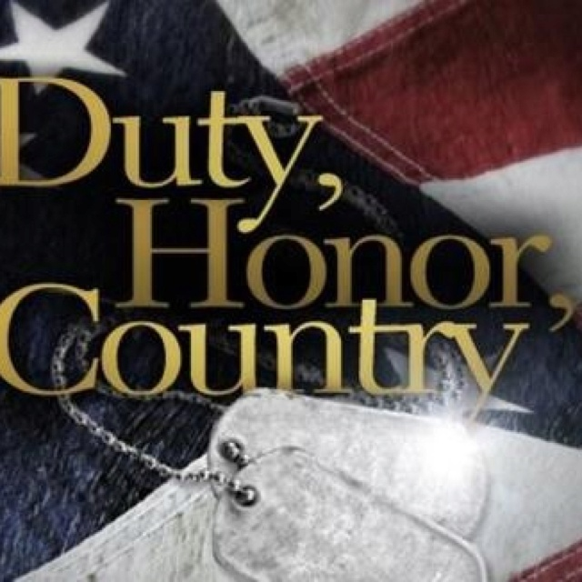 """duty honor country """"duty, honor, country,"""" a striking expression of west point 's time-honored ideals, is the motto of the us military academy and is imbedded in its coat of arms though not as old as the institution they represent, the usma coat of arms, also referred to as the seal, and motto have a long and ."""