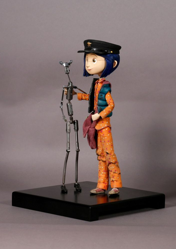 stop motion animation puppets | Coraline armature and puppet Coraline (2009) Steel and rubber Courtesy ...