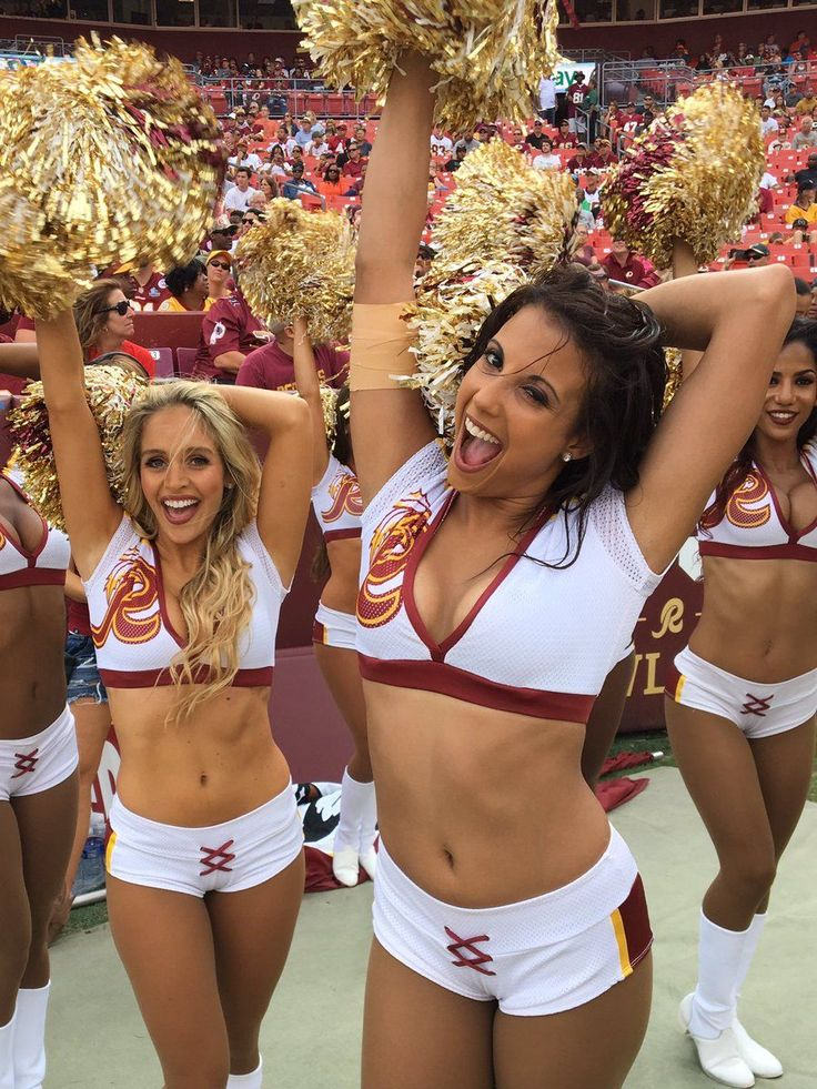 Redskins Cheerleaders Claim Forced To Be Topless And Escorts