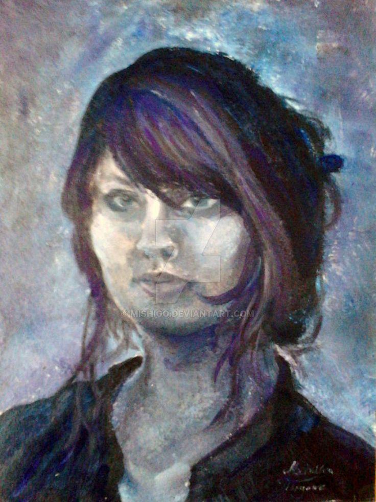 self-portrait MiShiGo by MiShiGo
