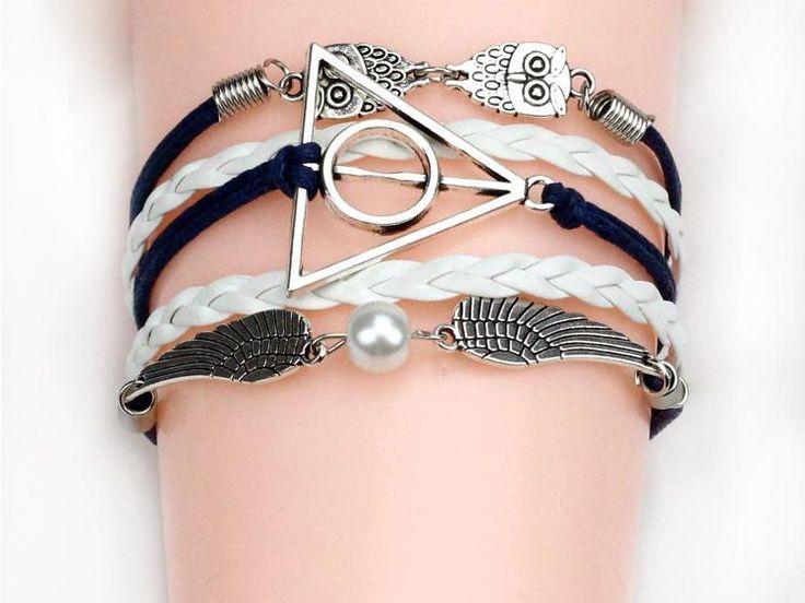 Сова гарри браслет оплетки многослойные браслет бесконечность якорь руль браслет европы древо жизни браслеты браслет купить на AliExpress
