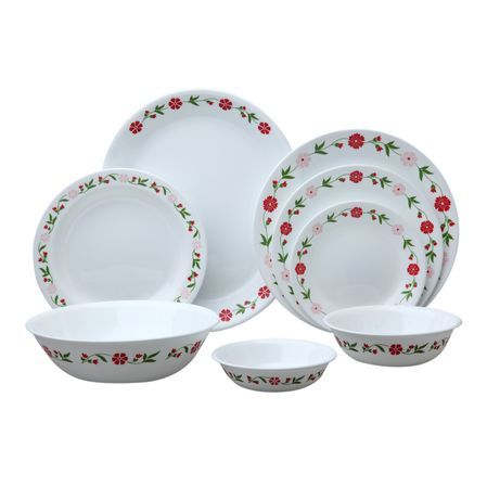 The original break and chip resistant glass dinnerwa.  sc 1 st  Pinterest & 8 best Corelle patterns images on Pinterest | Dinnerware sets Dish ...
