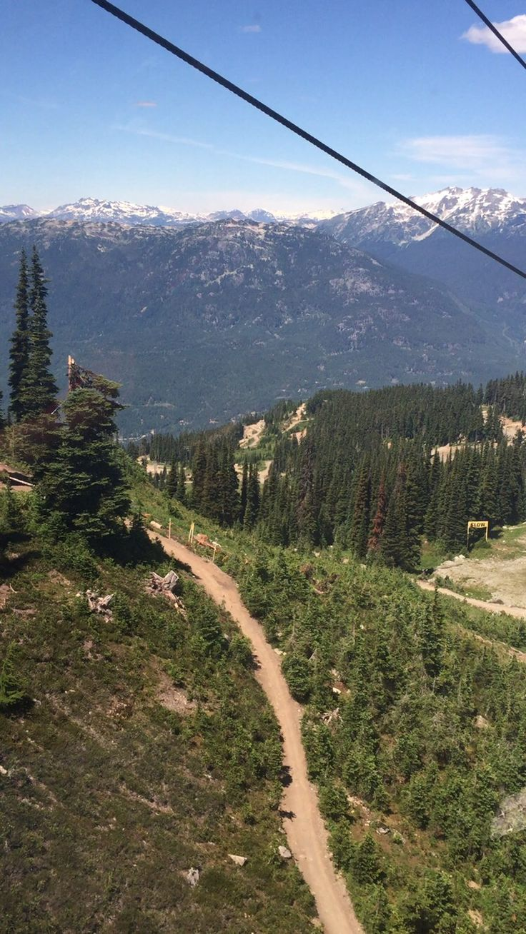 Mountain Bike trail |  Whistler BC