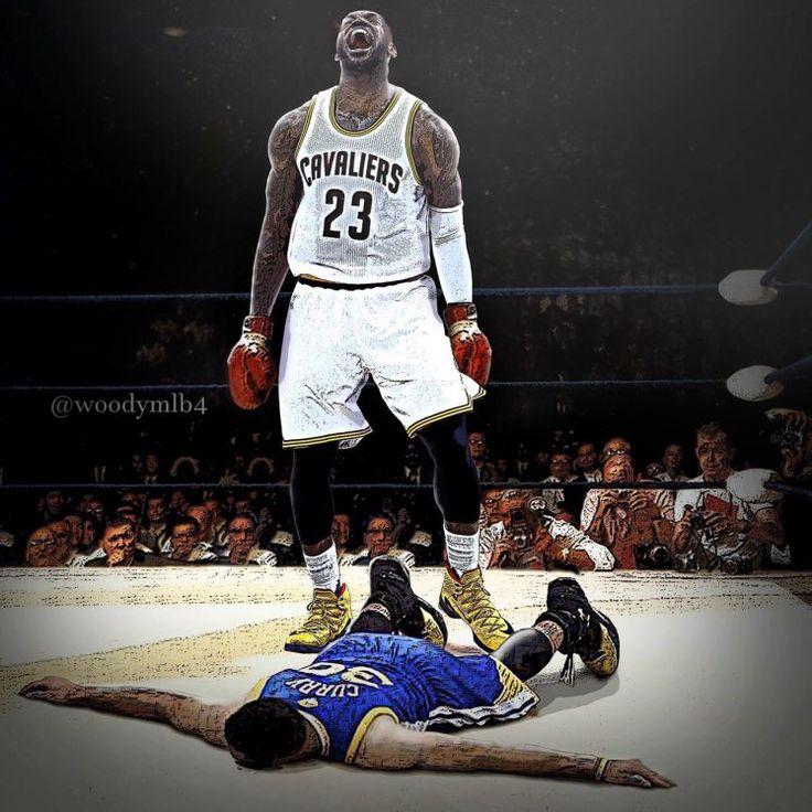 Lebron knocks out curry Finals memes, Nba finals, Lebron