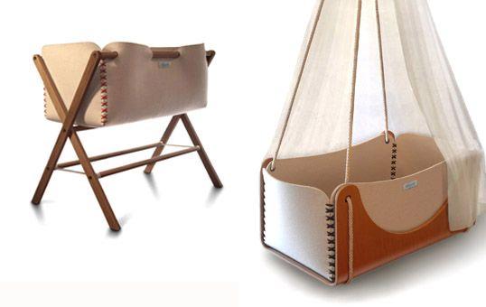 Berceau suspendu, Woodly Eco design #berceau #design #baby