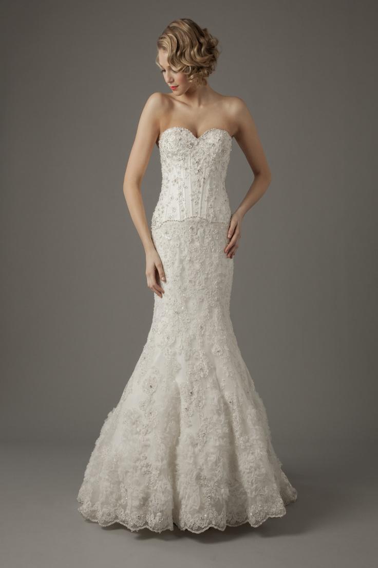 128 best Mark Zunino images on Pinterest | Wedding frocks, Short ...