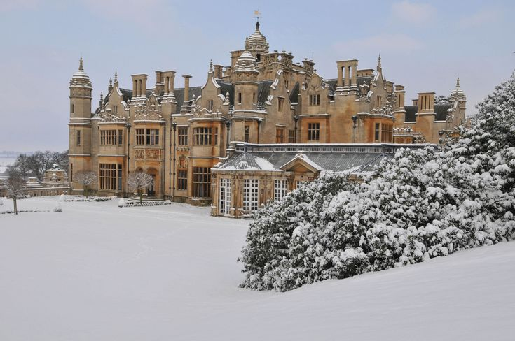 Harlaxton Manor, Lincolnshire, England.  A house the Triumvirate would've owned in the golden era