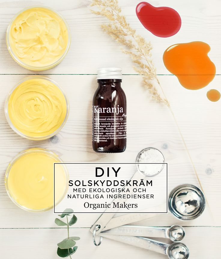 Sunscreen karanjaolja carrot - organicmakers.se