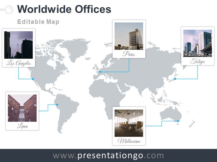 13 best powerpoint maps images on pinterest cards maps and free and editable powerpoint worldmap with polaroid frames for your offices gumiabroncs Choice Image