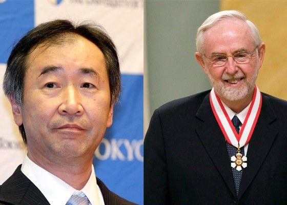 Os vencedores do Nobel de física (Foto: Divulgação)