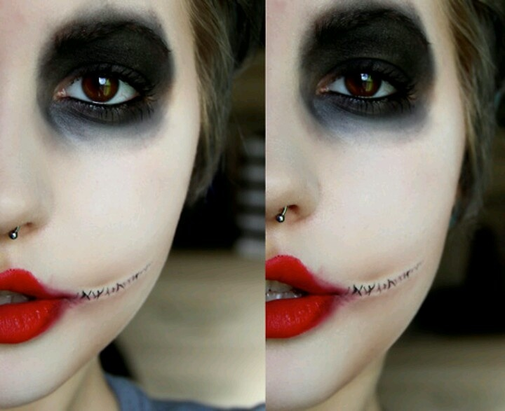 Girl Version Of The Joker. | HALLOWEEN IS MY FAV | Pinterest