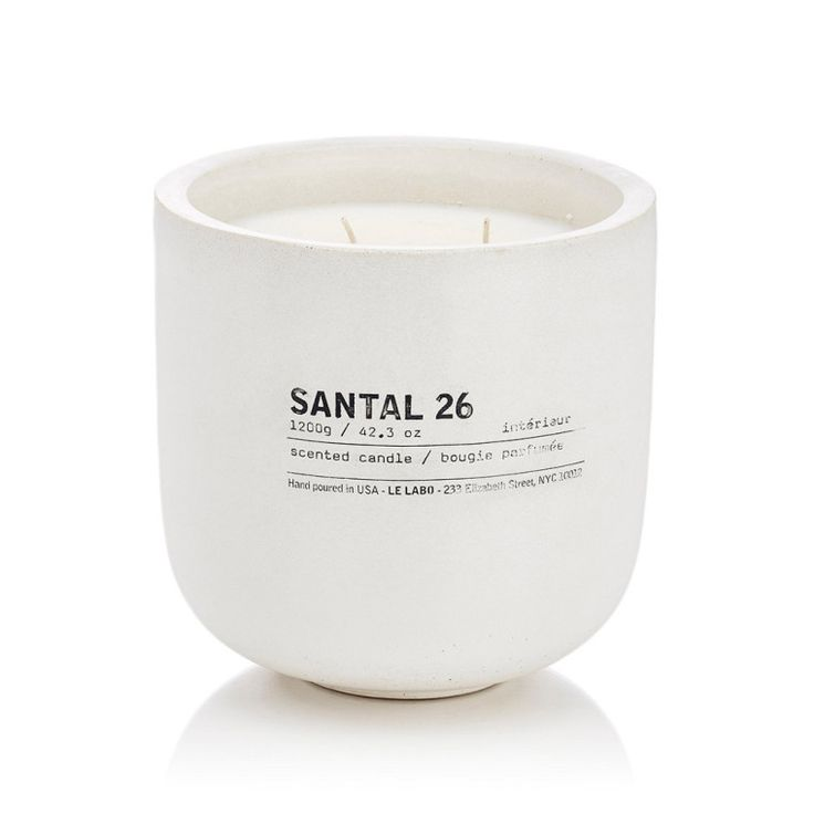 """I always feel guilty about buying myself nice candles, but I've been lusting after this one from Le Labo."" - Emilia Petrarca, Associate Digital Editor Le Labo Santal 26 Candle, $420, <a href=""http://www.barneys.com/le-labo-santal-26-candle-504226965.html#prefn1=brand&prefv1=Le+Labo&start=6 "">barneys.com</a>.-Wmag"