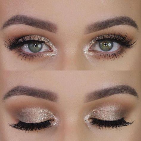 ▷ 1001 + Ideen und Inspirationen, wie Sie Ihre Augen schminken