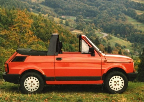 Fiat 126P Bosmal Cabrio