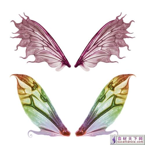 Nifty image intended for free printable fairy wings