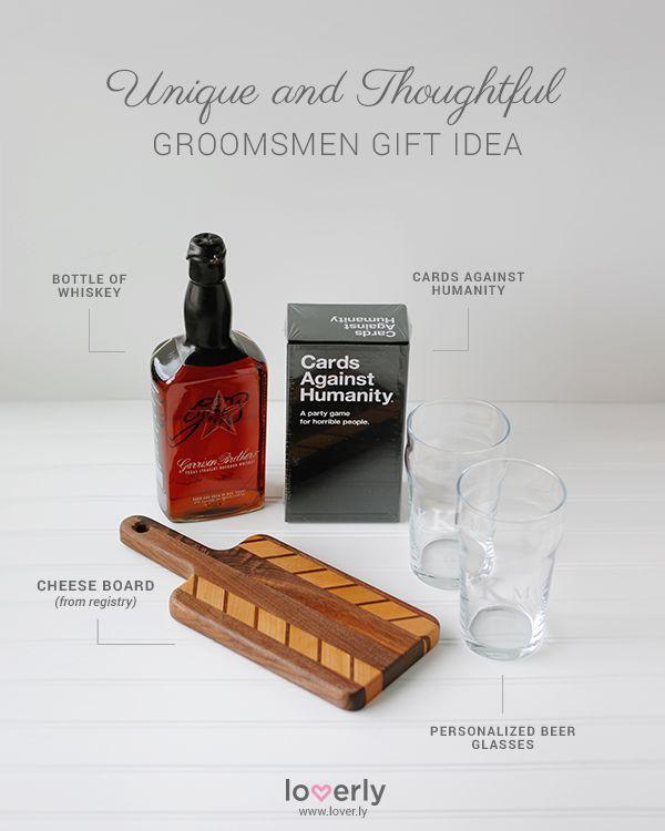 Wedding Gift From Groomsmen: Groom & Groomsmen: Groomsmen Gift Idea