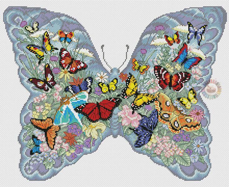 летающие бабочки 8
