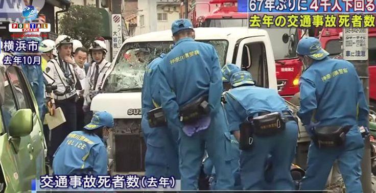 Depois de 67 anos o Japão obteve um marco histórico na queda do número de mortes em decorrência dos acidentes de trânsito em 2016.