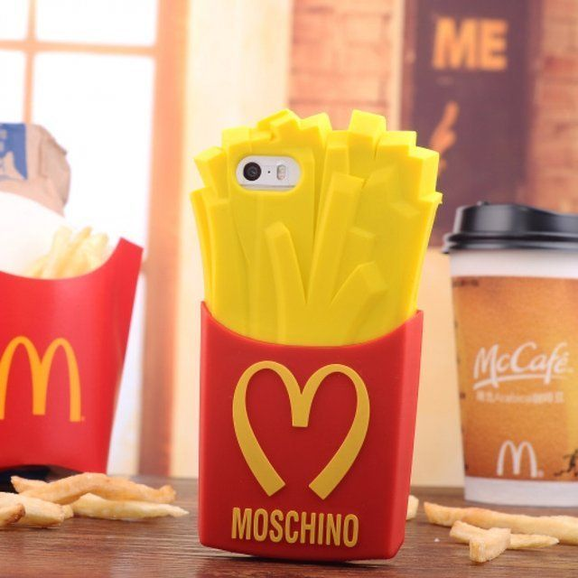 The Moschino French Fry Case is a Fashionable Spoof on McDonald's #phonecase #smartphone trendhunter.com