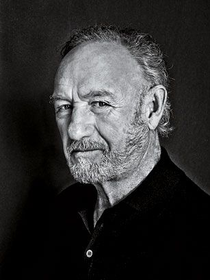 "Gene Hackman — I love this man. Total baked potato. When he was 13, out on the street playing ball with a friend, his dad drove by, gave a casual wave, and thus left the family for good. He saw his father again but still gets choked up, recalling that wave. ""It's only been 65 years,"" he joked. ""Makes you a better actor."""