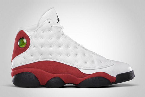 @Speck Magro  Air Jordan XIII Retro White/Black/Varsity Red