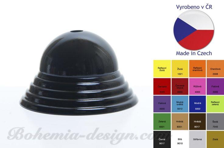 Baldachýn barevný - vroubek průměr 89 mm