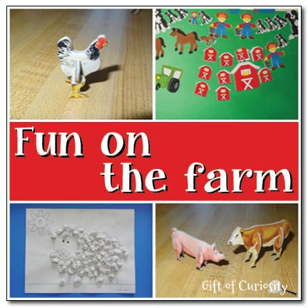 Fun on the farm by Oriental Trading Company {giveaway} - Gift of Curiosity