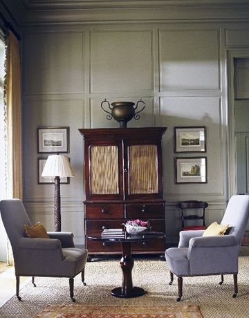 Searching for a new color for the body of the house...Love this warm olive gray