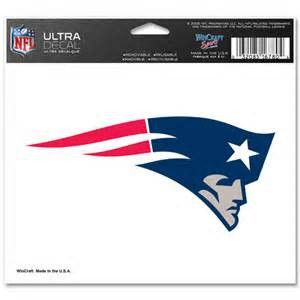 New England Patriots logo ultra decal