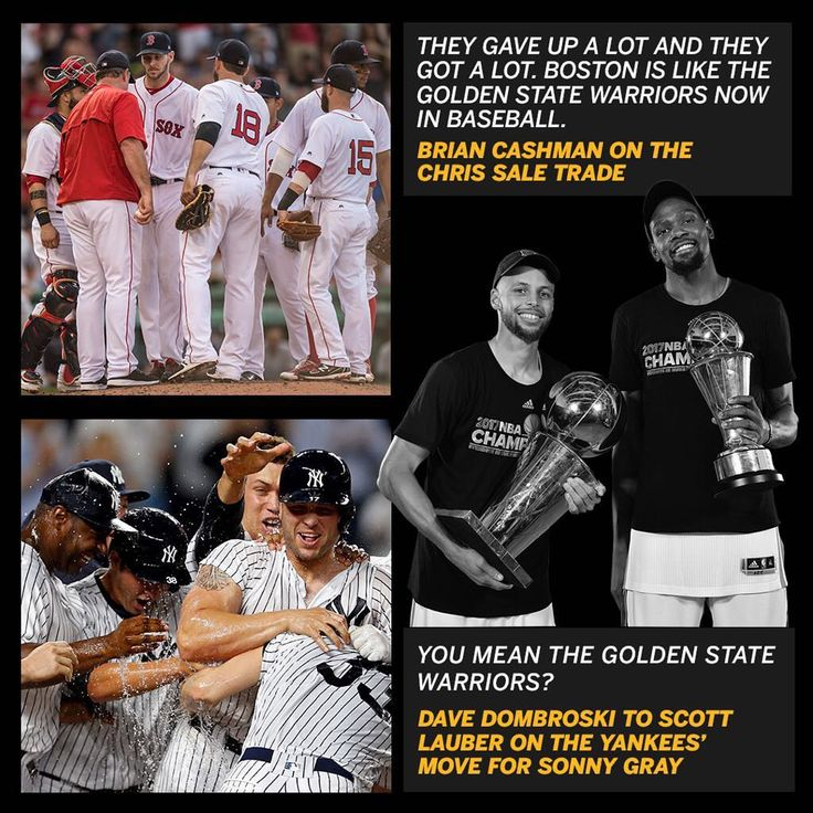 They can't both be the Golden State Warriors of MLB. So which team is it?