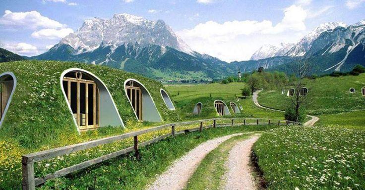 Green Magic Homes, le case-Hobbit ecologiche | Vvox