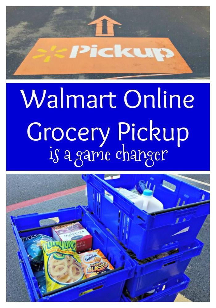 Walmart online food shopping