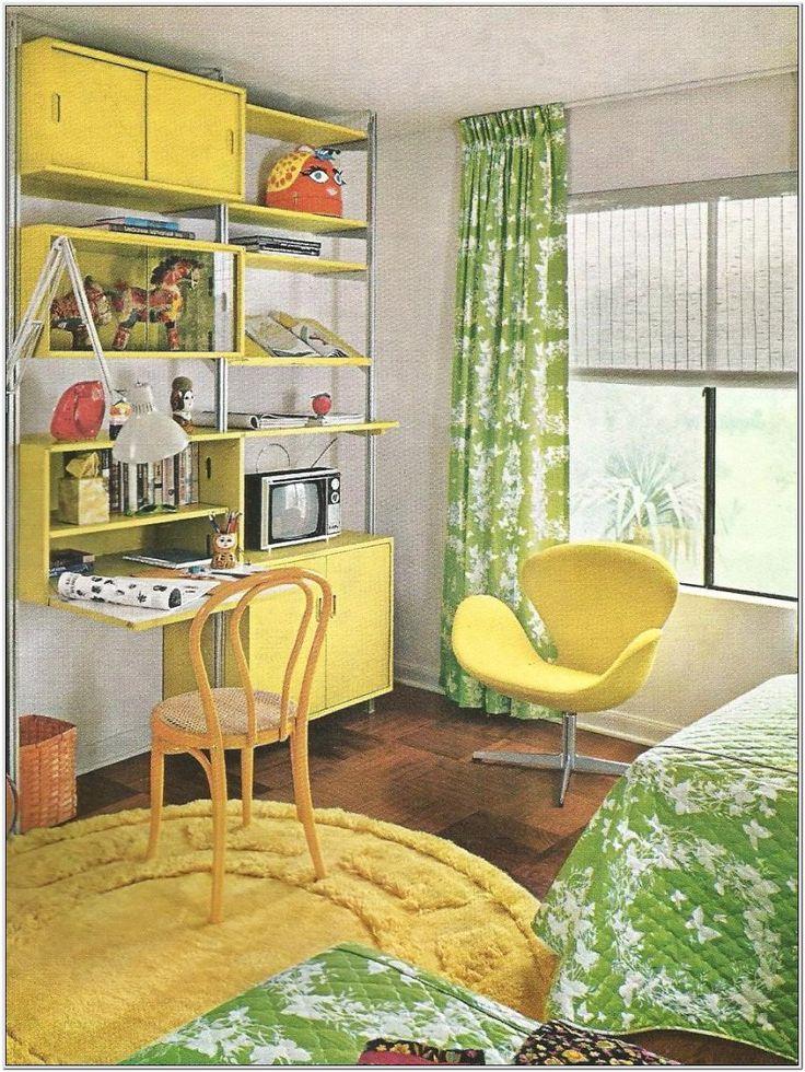 Bedroom Decorating For Kids 1970s | Retro bedrooms, 70s ...